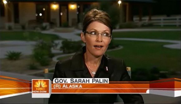 Sarah Palin on Today - 6/12/09
