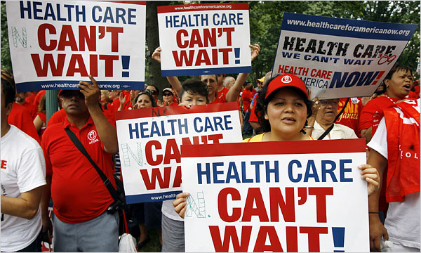 Healthcare Rally - Jose Luis Magana/Reuters