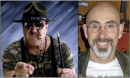 Sgt. Slaughter and Jackie Earle Haley - Vic Holtreman