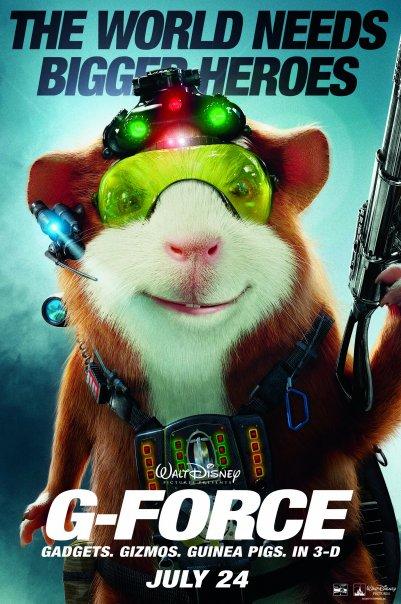 FIN DE SEMANA DEL 30 DE OCTUBRE AL 1 DE NOVIEMBRE DEL AÑO 2009 G-force-movie-poster