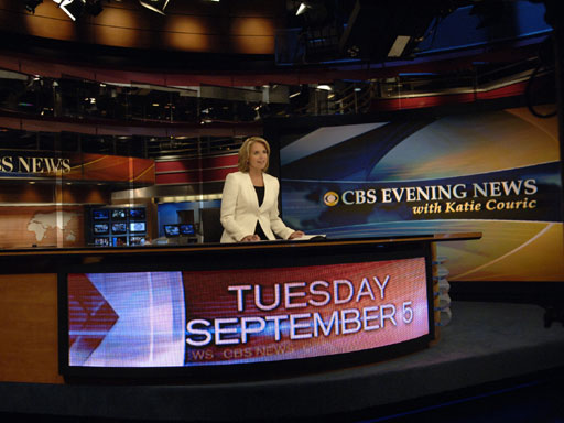Katie Couric - Photo CBS/John Paul Filo