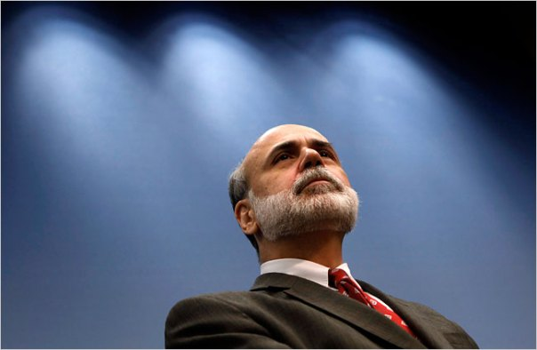 Ben Bernanke on 9/15/09 - Jim Young / Reuters