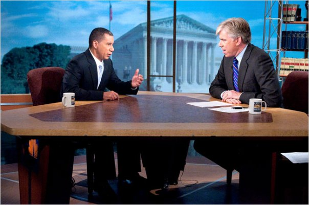 David Paterson on Meet The Press on 9/27/09 - William B. Plowman/NBC NewsWire via Getty Images
