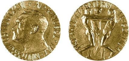 Nobel Peace Prize Medal - Nobel Foundation TM