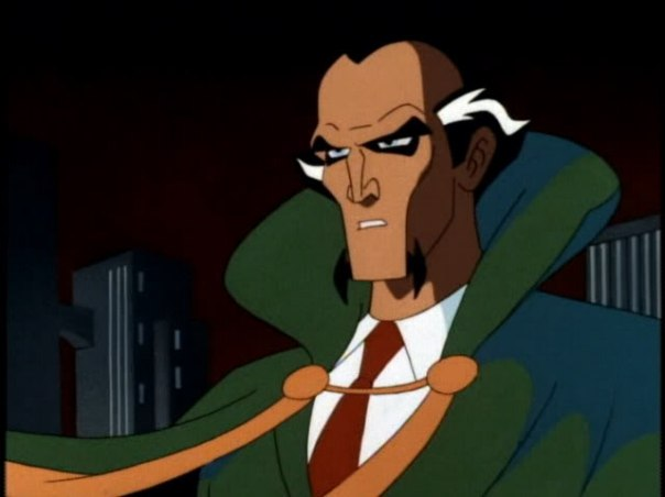 Ra's al Ghul in Batman The Animated Series - Warner Bros